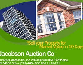 "#4 for 3""x4"" Advertisement Design; Auction Company; Needed ASAP by AuraCoders"