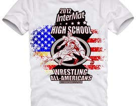 #45 untuk T-shirt Design for InterMatWrestle.com oleh mykferrer