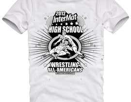 #24 untuk T-shirt Design for InterMatWrestle.com oleh mykferrer