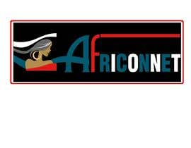 #9 for Design a Logo for Africonnet by machine4arts