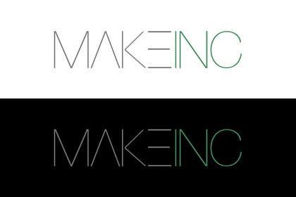 #90 for Design a Logo for Makeinc by vladspataroiu
