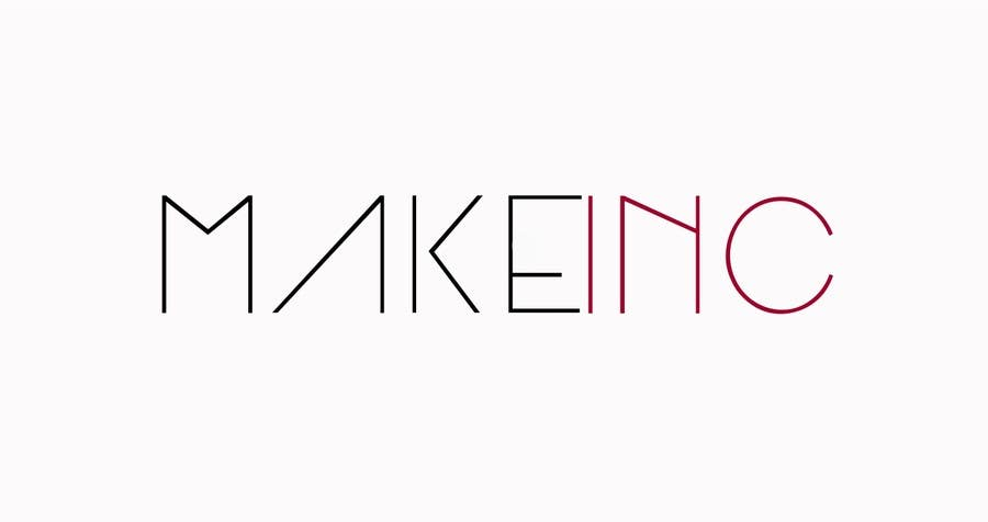 #96 for Design a Logo for Makeinc by logomaker01