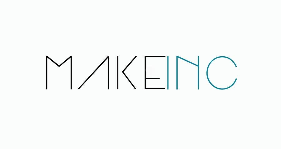 #97 for Design a Logo for Makeinc by logomaker01