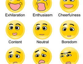 toshi0001 tarafından Design a grid of 9 original emoji icons için no 2