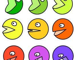 toshi0001 tarafından Design a grid of 9 original emoji icons için no 14