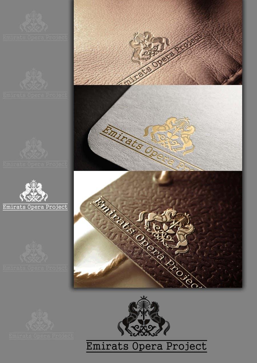 Kilpailutyö #42 kilpailussa Design a Logo for The Emirates Opera Project