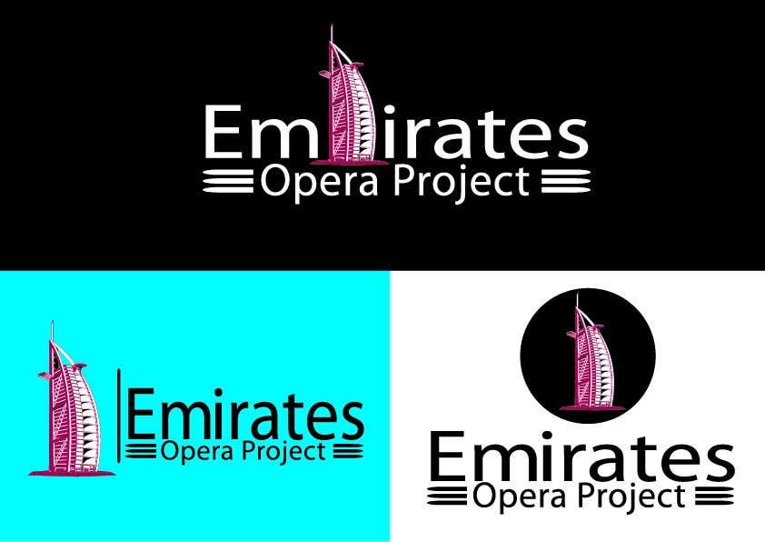 Kilpailutyö #47 kilpailussa Design a Logo for The Emirates Opera Project