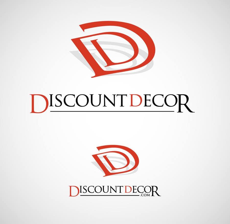 Penyertaan Peraduan #162 untuk Logo Design for Discount Decor.com