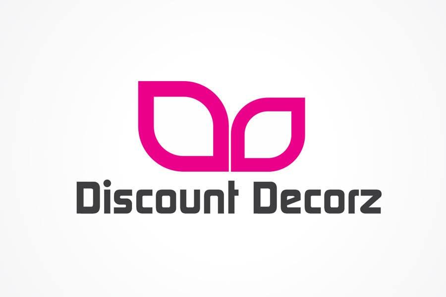 Penyertaan Peraduan #266 untuk Logo Design for Discount Decor.com