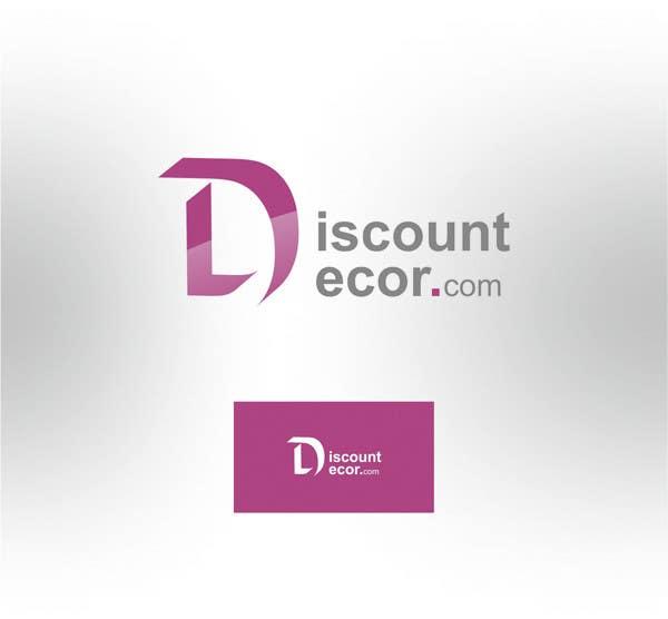 Penyertaan Peraduan #322 untuk Logo Design for Discount Decor.com