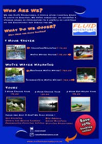 #9 for Design a Flyer for Kayaking Company by hajjistanley
