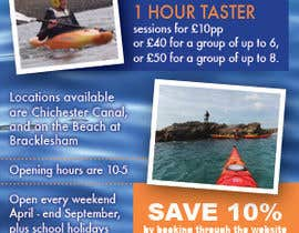 #8 para Design a Flyer for Kayaking Company por LuckyDogDesign