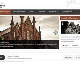 nº 7 pour Responsive webpage design for an exsiting layout (romain catholic church) par samuelsams