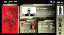 "Entry # 64 for Design a mockup of web-based game with a ""secret agent"" theme by"