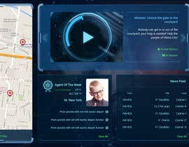 "nº 53 pour Design a mockup of web-based game with a ""secret agent"" theme par edbryan"