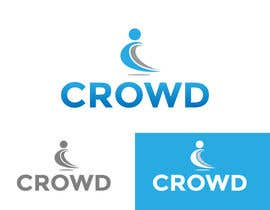 #21 for Design a Logo for a new App called Crowd by zaldslim