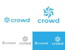 nº 24 pour Design a Logo for a new App called Crowd par zaldslim