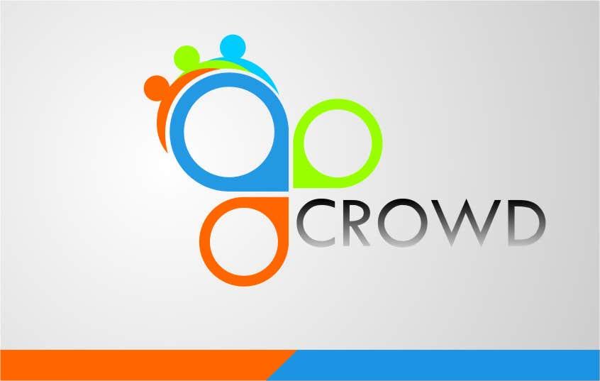 Kilpailutyö #13 kilpailussa Design a Logo for a new App called Crowd