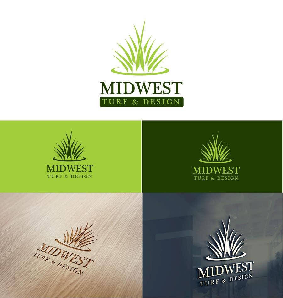 Proposition n°50 du concours Design a Logo for Midwest Turf & Design