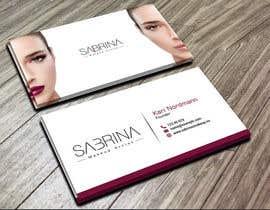 saikat9999 tarafından Business card for makeup artist için no 17