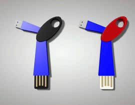 #30 para Product Design - USB key holder  $100.00 USD award! por juwin305