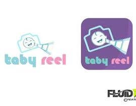 #33 for Design a Logo & App Icon for Baby Reel by fluidxcreations