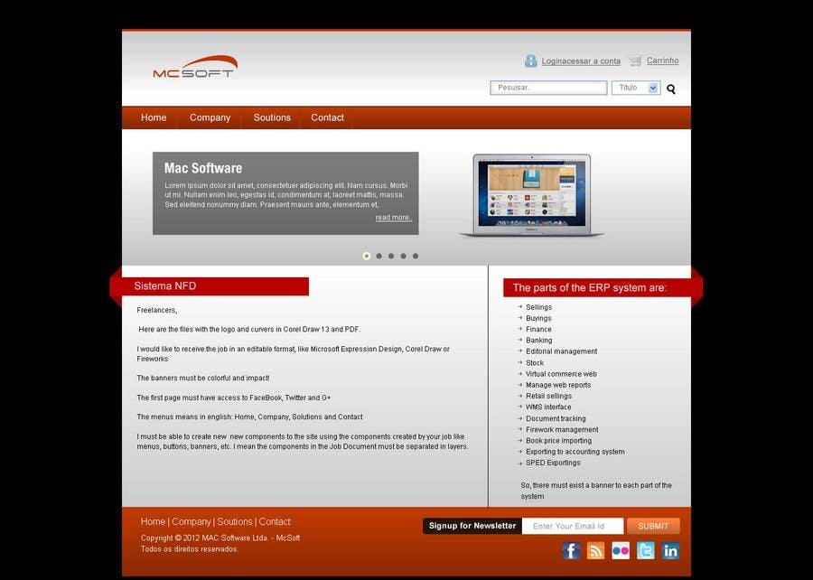 Contest Entry #                                        11                                      for                                         Website Design for Mac Software Ltda