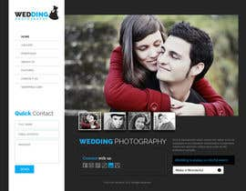 nº 19 pour Build a Website for Wedding Photographer par amitgenx