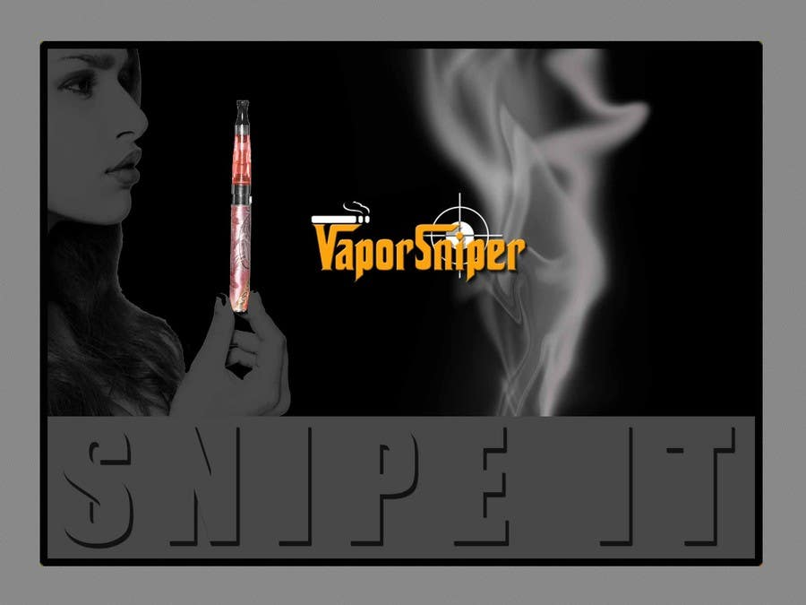 #9 for Design A Postcard for Vapor Sniper Wholesale Program, by arturw