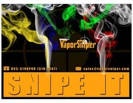 #11 for Design A Postcard for Vapor Sniper Wholesale Program, af arturw