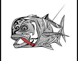 nº 29 pour T-shirt design for Trevally Fish par abdolilustrador