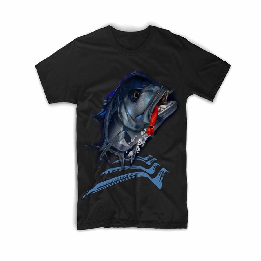 Kilpailutyö #20 kilpailussa T-shirt design for Trevally Fish