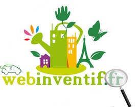 nº 8 pour Concevez un logo for webinventif.fr par arazyak