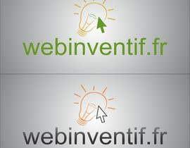 #11 for Concevez un logo for webinventif.fr by TATHAE