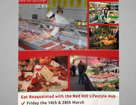 Nro 27 kilpailuun Design a Flyer for a combined communtiy event to create renewed interest in a strip of shops käyttäjältä abdelaalitou
