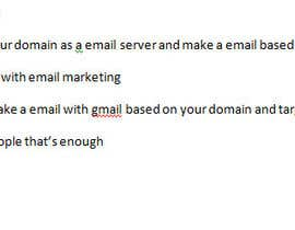 #5 for Just an advice to be an email service provider by ronty