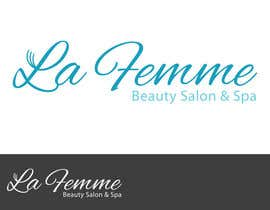 #102 para Logo Design for La FEmme Beauty Salon & Spa por AllisonR