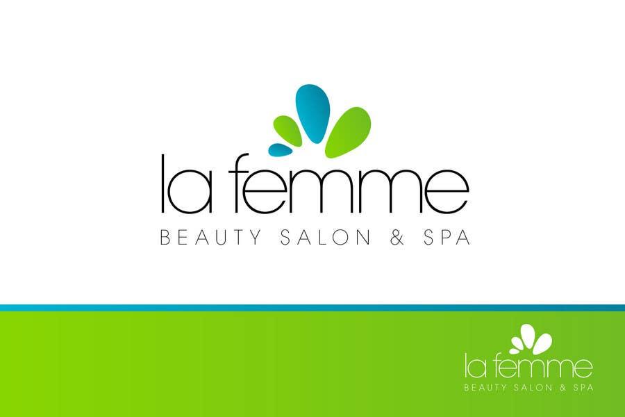 Proposition n°3 du concours Logo Design for La FEmme Beauty Salon & Spa