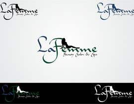 #117 para Logo Design for La FEmme Beauty Salon & Spa por kalashaili