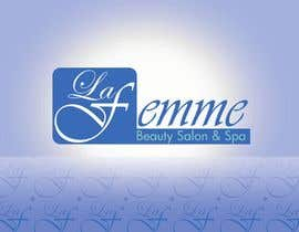 #116 para Logo Design for La FEmme Beauty Salon & Spa por vnsdesign