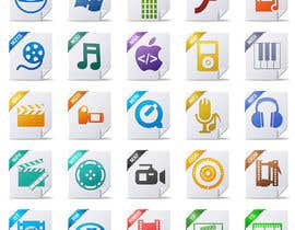#39 cho Design modern icons for media file types bởi AndryF