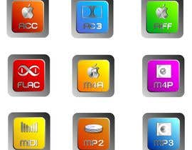 #17 for Design modern icons for media file types by RobertFeldner