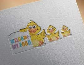 ahmad111951 tarafından Design cartoon Logo for 3 little ducks and their lunch orders için no 10