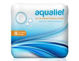 zeddcomputers tarafından Create  Packaging Design for aqualief all in one bathing sponge için no 84