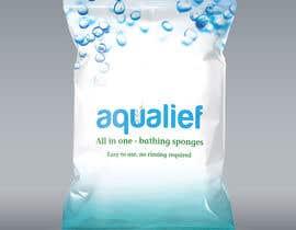 visvajitsinh tarafından Create  Packaging Design for aqualief all in one bathing sponge için no 19