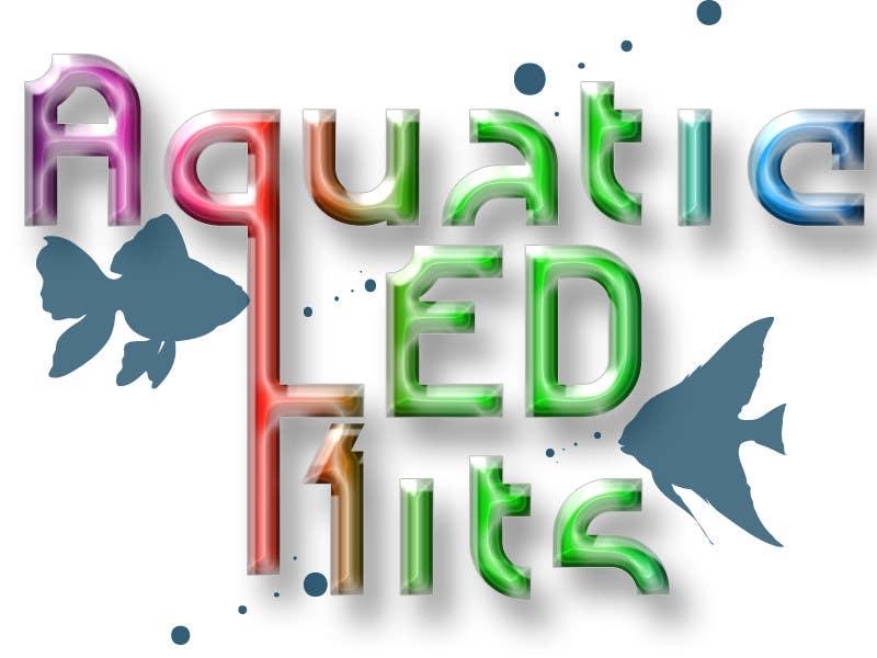 #25 for Design a Logo aquarium led ecommerce by AlinaPre