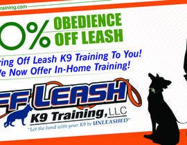 #16 for Design an Advertisement for Dog Training Business af eshad222