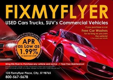 #31 for Design a Flyer for Local Car Dealership by Sahir75