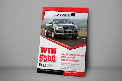 #37 for Design a Flyer for Local Car Dealership by tahira11
