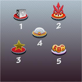 #33 for Design 5 Icons for my game by eblive